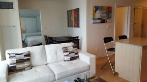 December: Furnished 1 Bedroom + Den @ Maple Leaf Square