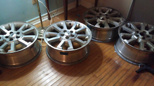 Rims off 2011 ford 16 or 17 in rim