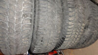 4 Winter tires and wheels 195/65R15