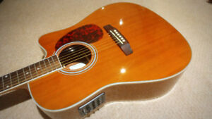 Acoustic Electric guitar - $185