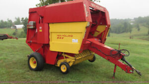 New Holland 853 Baler and parts