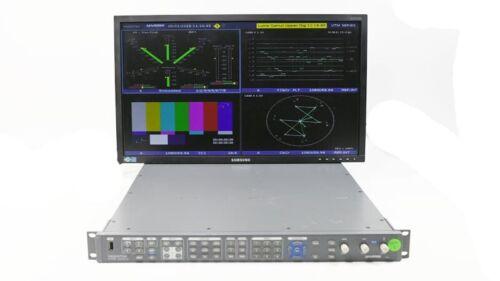 Harris Videotek VTM-4100 PKG Waveform Vector Monitor Opt 10 SD HD A3-OPT-5 #5