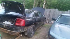 Parting out dodge charger