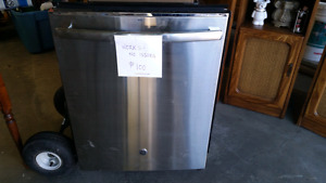 GE stainless steel dishwasher