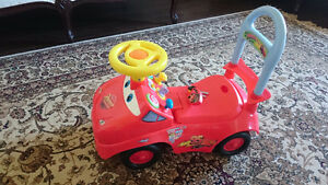 Lightning McQueen Ride-On Toy