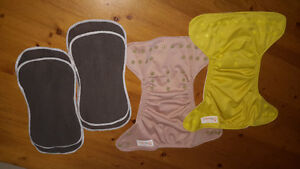 'Lil helper' Cloth diapers-like new!