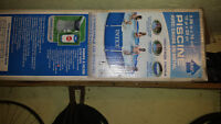 COMPLETE SET OF POOL POLES FOR 12 X 30 INTEX POOL