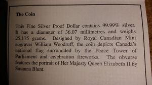 Canadian Silver Dollar~1965-2005~100% Silver~$1 Silver Coin..... London Ontario image 5