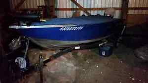 Princecraft Springbok 20 with 30hp Honda four stroke