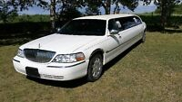 TWO LIMOUSINE FOR HIRE