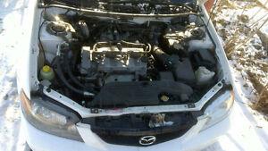 MOJO car to match your MOJO - 2003 Mazda Protege LX 2.0 Sedan