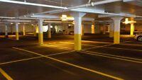 Parking spot near bell center