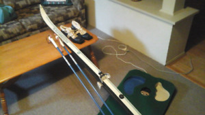Cross Country Skis three pin type Several sets including boots