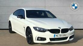 image for 2020 BMW 4 SERIES GRAN COUPE 430d M Sport Gran Coupe Hatchback Diesel Automatic