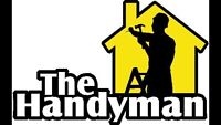 THE HANDY MAN. -   30 years Experience  -519 709-1010  text