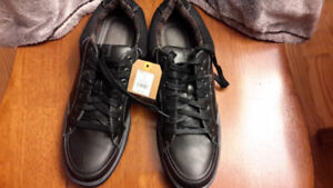 Denver Hayes black leather casual shoes-brand new size 11