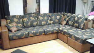 L-shape couch Cornwall Ontario image 1