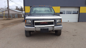2000 1ton cab chassis gmc