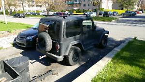Jeep tj 99 pour projet ou pièces