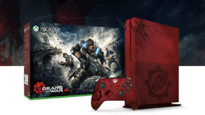 Xbox One S , 2 TO , Gear Of War Edition