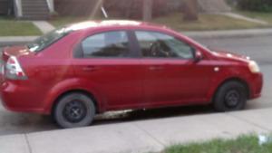 Car 2007 CHEV  AVEO 4DR