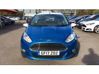 2017 Ford Fiesta 1.25 82 Zetec Blue 3dr Manual Petrol Hatchback