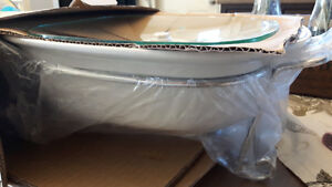 Casserole dish with warming rack BRAND NEW