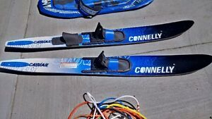 Water Skis and Tow Rope