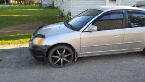 For Sale ~ Honda Civic ~ 2001 ~ Rims & Sound System