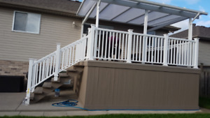 Nearly New Deck Railing - HALF PRICE