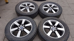 !! F-150 FX-4 SMOKE GREY 20 INCH RIMS & TIRES $1550.00 !!