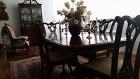 Numerous antique furniture pieces