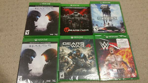 New Sealed & Lightly Used Xbox One Games for Sale $20 - $40