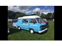 Vw t25 campervan 5 birth 1.9td xud conversion