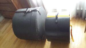 case transport bass drum 20''