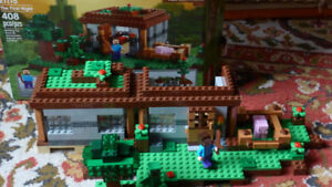 Lego Minecraft:  The First Night