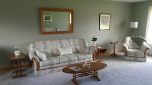 Chesterfield,Loveseat and Chair