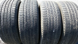 4X Michelin size 265/60 r18 all season tires
