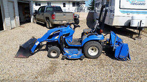 2005 New Holland TZ24DA Compact Utility Tractor