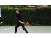 Private tennis coach - City of London