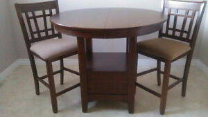 PUB TABLE & 4 CHAIRS!!  2 Chairs Still in Boxes - NEW CONDITION St. John's Newfoundland image 1