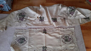 Sale Price New in Original Bag, Grape Vine Tablecloth and Runner
