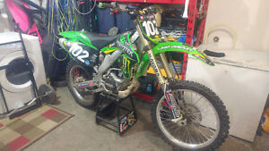 Modified MotoX 250f rode by former motorcross champion Darcy Lan