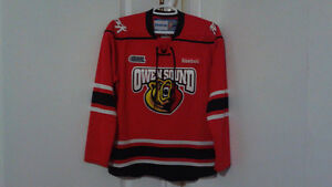 Owen Sound ATTACK Jersey - youth L/XL
