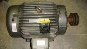 15 hp electric motor Baldor - Reliancer  ,575 volts 3 phase