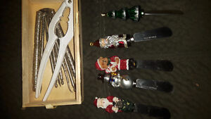 Cheese knives and nutcrackers London Ontario image 1