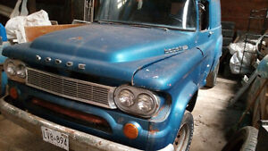 1960 Dodge panel van project