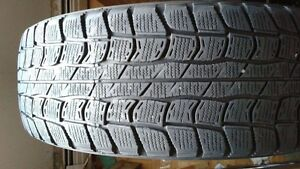 2 - Dunlop Winter Tires. 195/60R15. $65.00