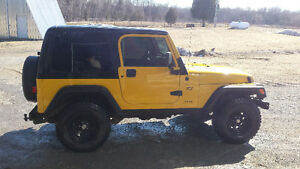 2002 Jeep TJ Coupe (2 door)
