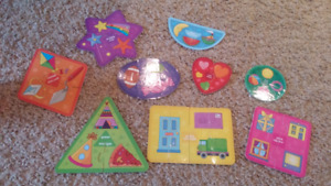Infantino shapes and colours puzzles